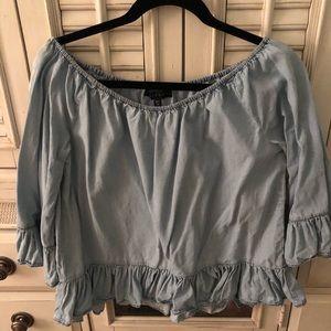 Sanctuary Off-the-shoulder blouse